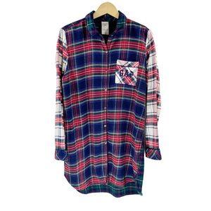 Gap x Pendleton Plaid Flannel Sleep Shirt PJs